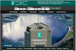embassy suites fallsview link
